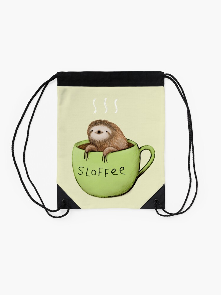 Alternate view of Sloffee Drawstring Bag