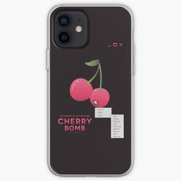 bombe de cerise: sélectionnez Coque souple iPhone