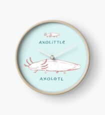 Axolittle Axolotl Clock