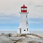 Peggy's Cove Lighthouse by AnnDixon