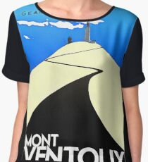 cycling retro Women's Chiffon Top