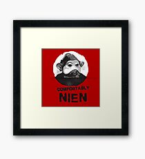 Comfortably Nien - Inspired By Star Wars Framed Print