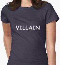 Villain Women's Fitted T-Shirt