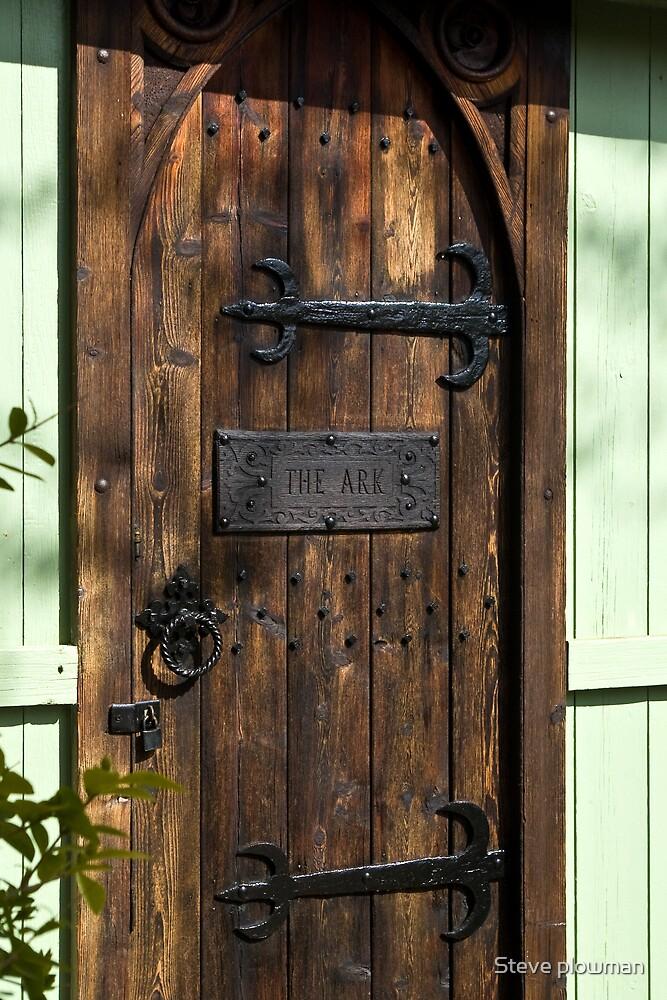 The door to The Ark by Steve plowman