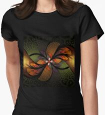 Autumn mystery Womens Fitted T-Shirt