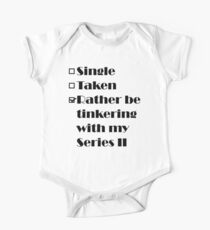Rather be tinkering with my Series 2 Kids Clothes