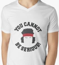 You Cannot Be Serious - Tennis Player - Sports - Tennis Gift Men's V-Neck T-Shirt