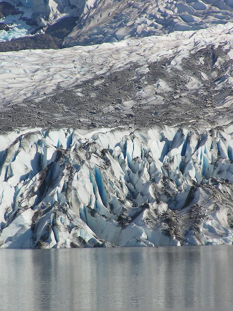 Mendenhall Glaciar - Juneau Alaska by Christine Frydenborg Dargon