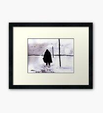 Siberian Stroll Framed Print