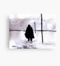 Siberian Stroll Canvas Print