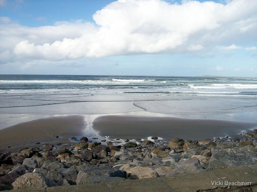 Strandhill Beach, Ireland by Vicki Beachman