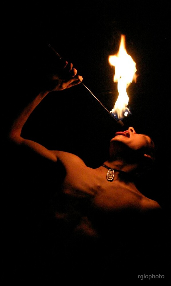 Fire Eater by rglophoto