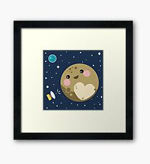 Pluto Framed Print