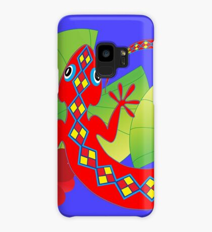 Connection to the Spirit World (Lizard)  Case/Skin for Samsung Galaxy