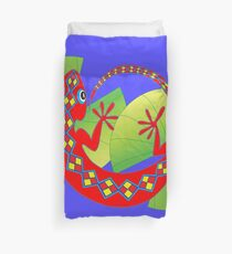 Connection to the Spirit World (Lizard)  Duvet Cover