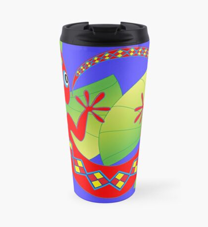 Connection to the Spirit World (Lizard)  Travel Mug