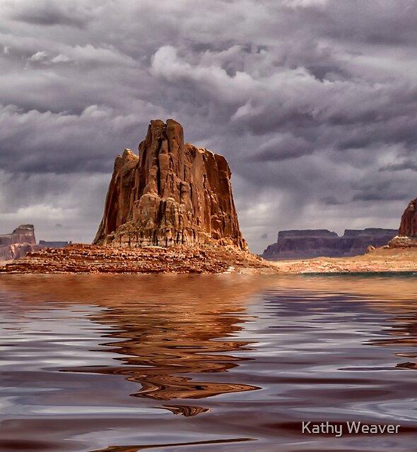 Lake Powell - Glen Canyon - Arizona by Kathy Weaver