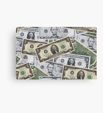 Money, Money, Money Canvas Print