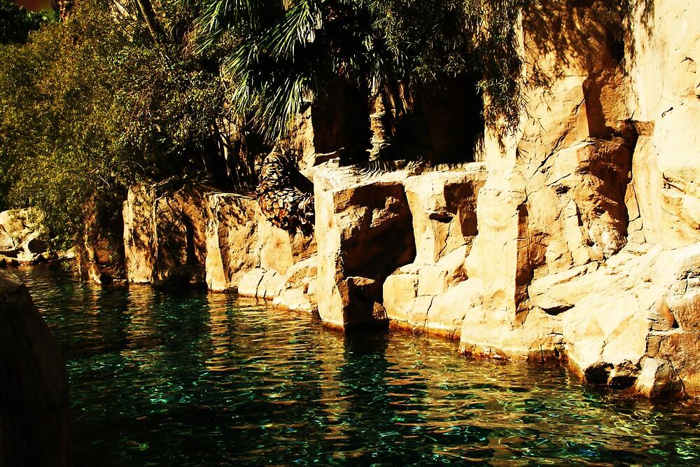 Tahati village by mel1forjon
