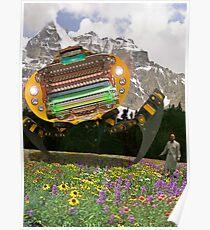 The Chitral چترال Doctor unveils the Bedford Truck Landwalker Poster