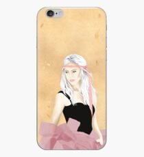 Pink girl iPhone Case