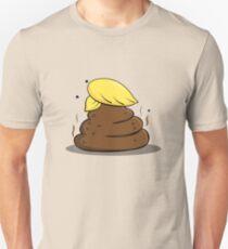 Donald Trump Poop Cartoon Unisex T-Shirt