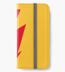Flash / Blitz / Éclair / Rayo / Fulmine (Red) iPhone Wallet/Case/Skin