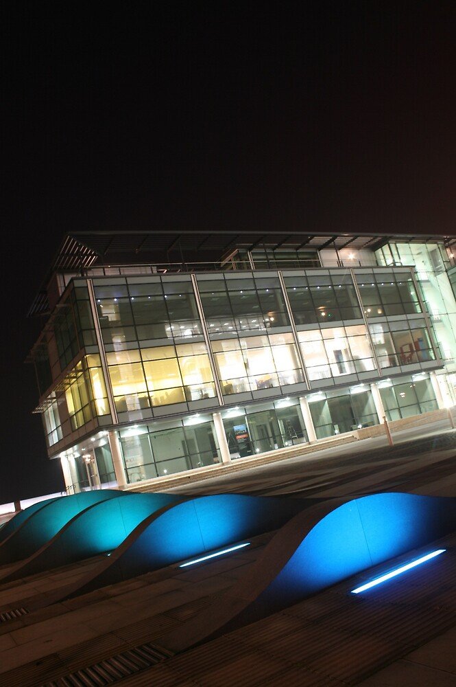 Building at Night! by YeahNerdz