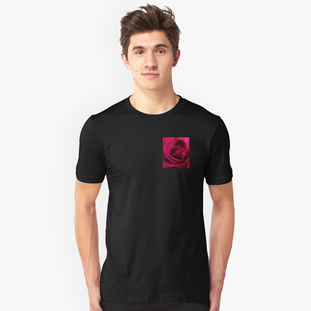 Red rose Unisex T-Shirt Front