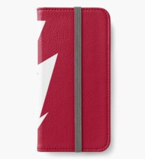 Flash / Blitz / Éclair / Rayo / Fulmine (White) iPhone Wallet/Case/Skin