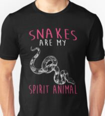 Snakes Are My Spirit Animal Unisex T-Shirt