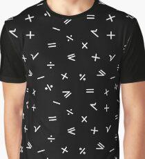 Mathematical Pattern Graphic T-Shirt