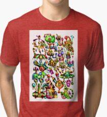 Fable fun illustration art 13 Tri-blend T-Shirt