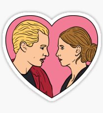 Buffy the Vampire Slayer and Spike  Sticker