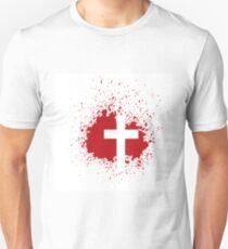 bloody cross T-Shirt