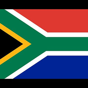I Love South Africa - Country Code ZA T-Shirt & Sticker by deanworld