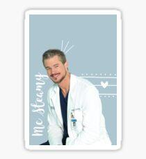 Mark Sloan - McSteamy Sticker