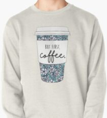 Floral Coffee Pullover