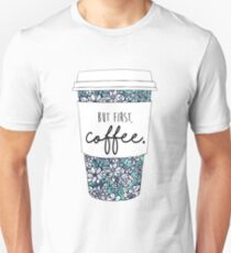 Floral Coffee T-Shirt