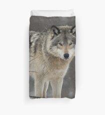 Dominant Wolf Duvet Cover