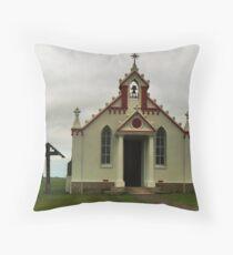 The Italian Chapel, Lamb Holm, Orkney Throw Pillow