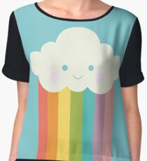 Proud rainbow cloud Chiffon Top