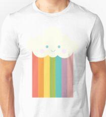 Proud rainbow cloud Unisex T-Shirt