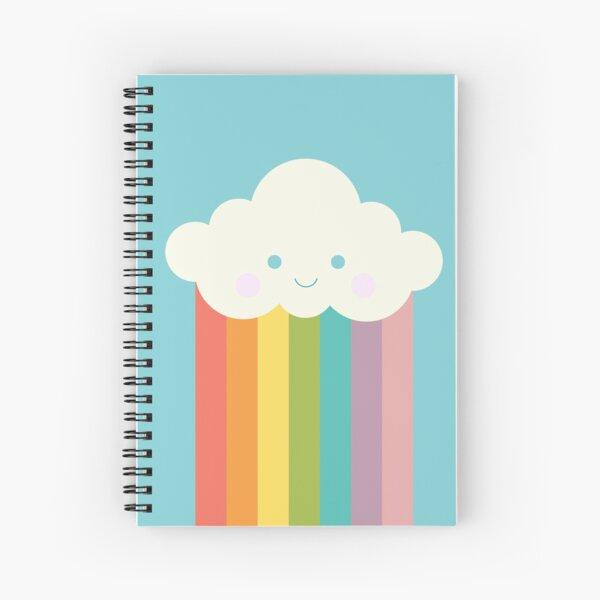 Proud rainbow cloud Spiral Notebook