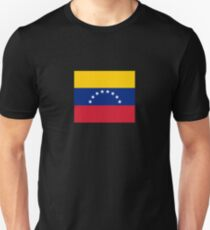 I Love Venezuela - Country Code VE T-Shirt & Sticker Unisex T-Shirt