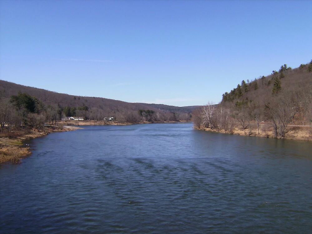 delaware river  by missingjosh
