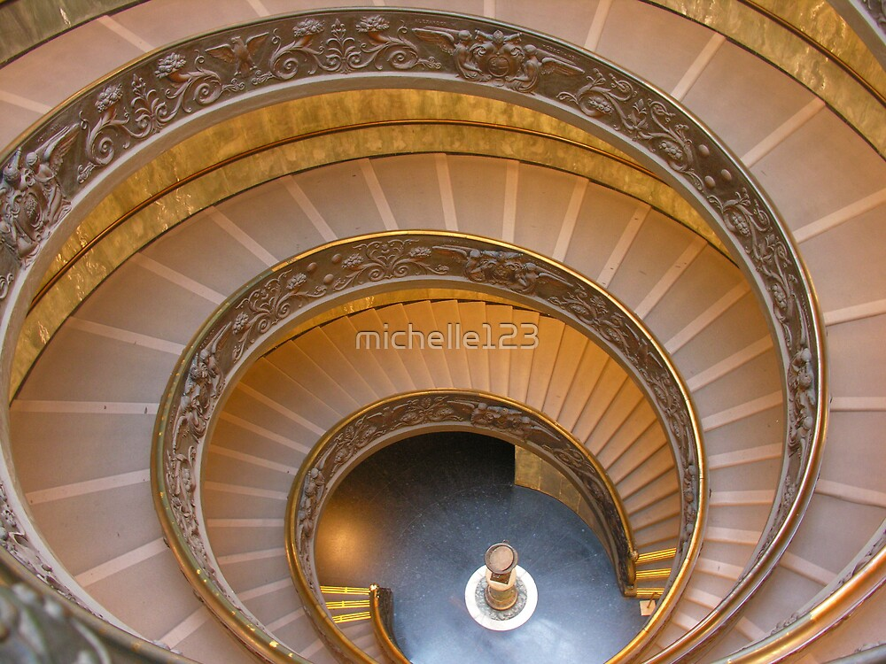 Vatican Spiral Stairs by michelle123