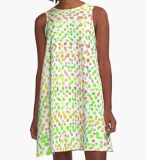 Dot My World No. 5 A-Line Dress