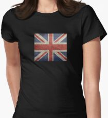 I Love Great Britain - Country Code GB T-Shirt & Sticker Women's Fitted T-Shirt
