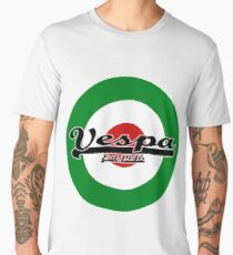 Team Vespa Italian Flag MOD Target Men's Premium T-Shirt